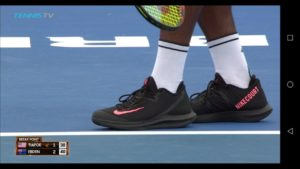 nikecourt tennis shoe leak