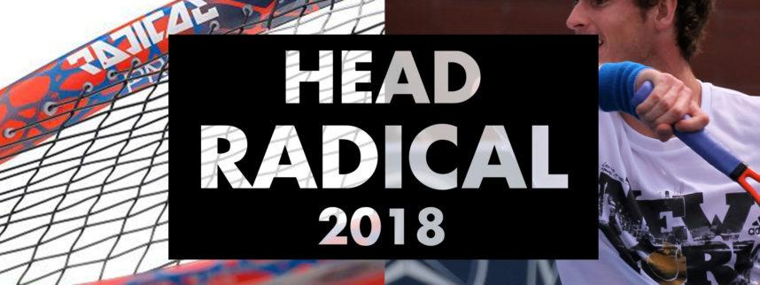 Head Graphene Touch Radical 2018